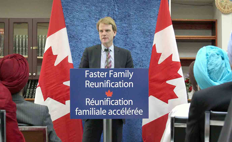 Canadian Citizenship and Immigration Minister Chris Alexander