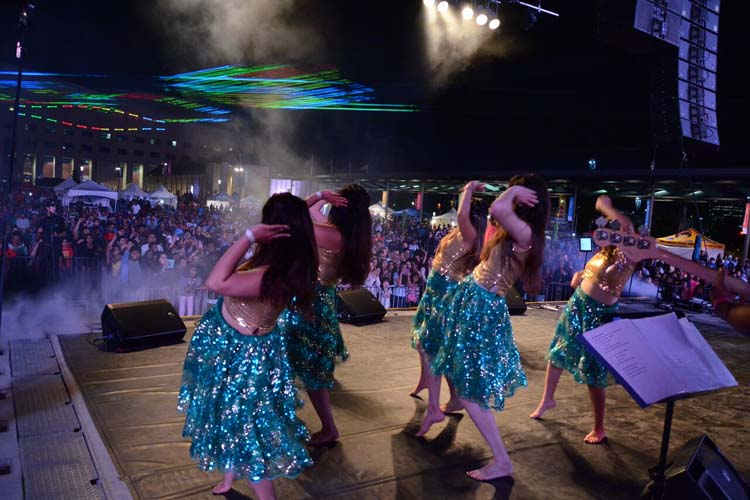 Bollywood dance and lasers at Bollywood Monster Mashup in Mississauga
