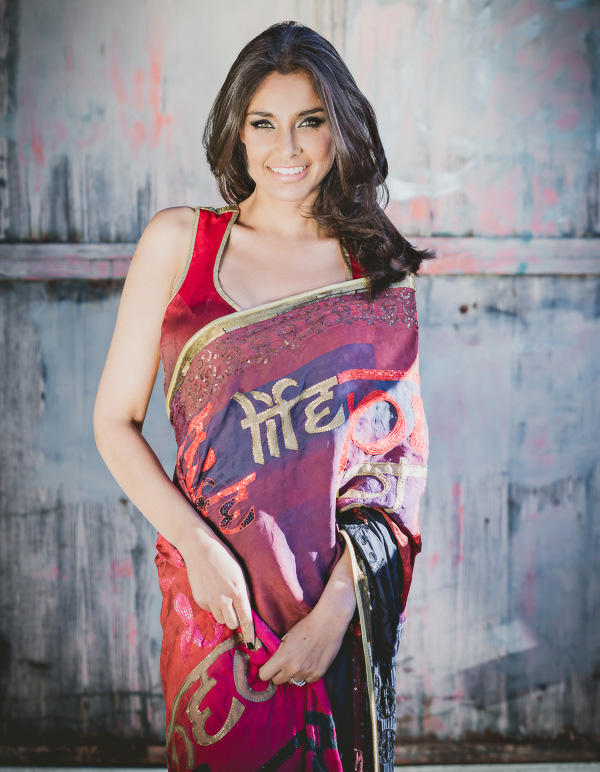 Lisa Ray in Satya Paul design