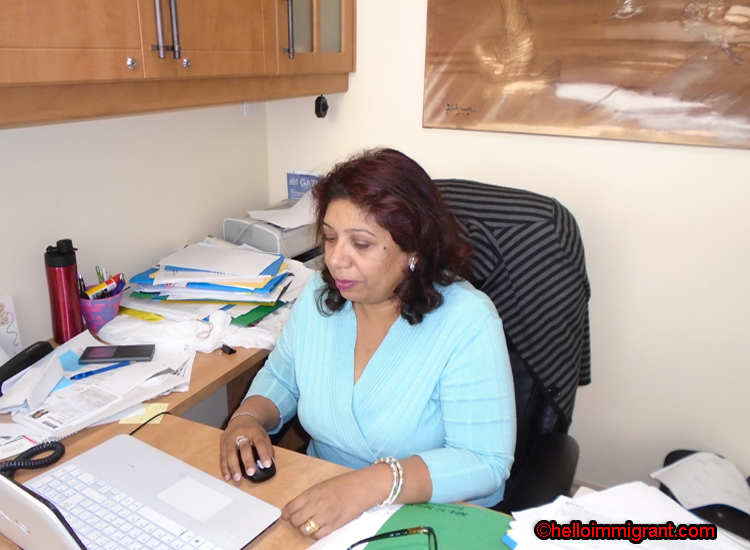 Sheetal jhuti of iCan Immigration